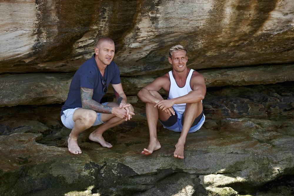 Scott (left) and Luke (right)