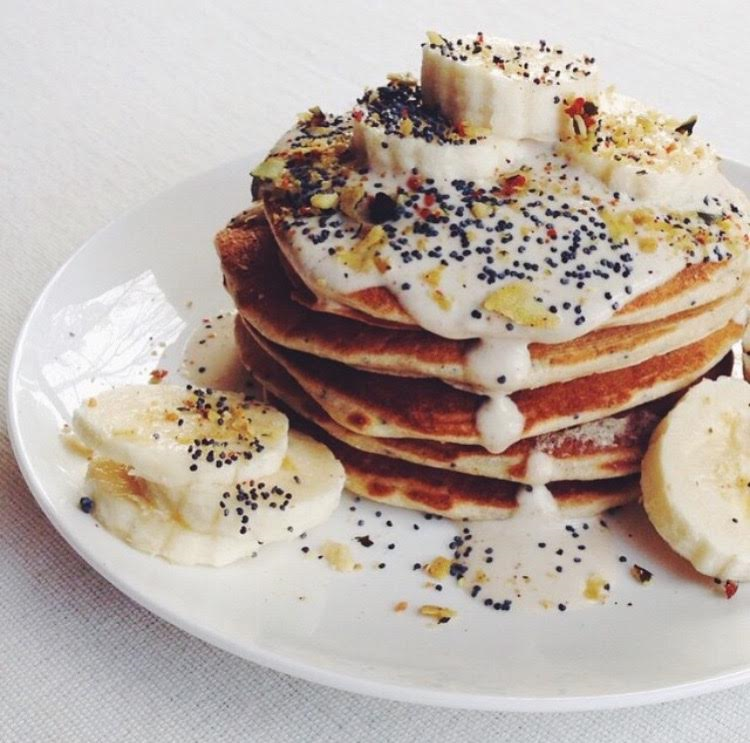 Buckwheat pancakes by Arielle - recipe below.