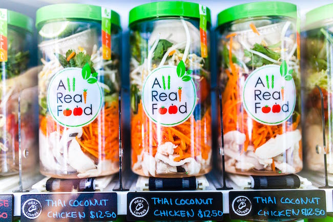 All Real Food Thai Coconut Chicken Salad