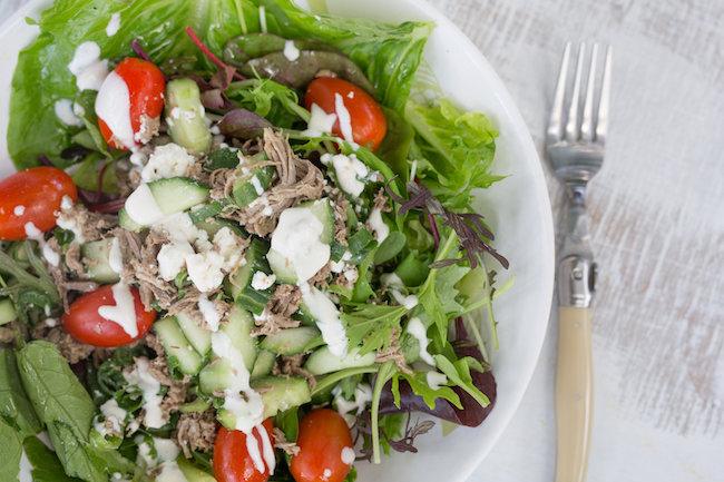 All Real Food Greek Lamb Salad