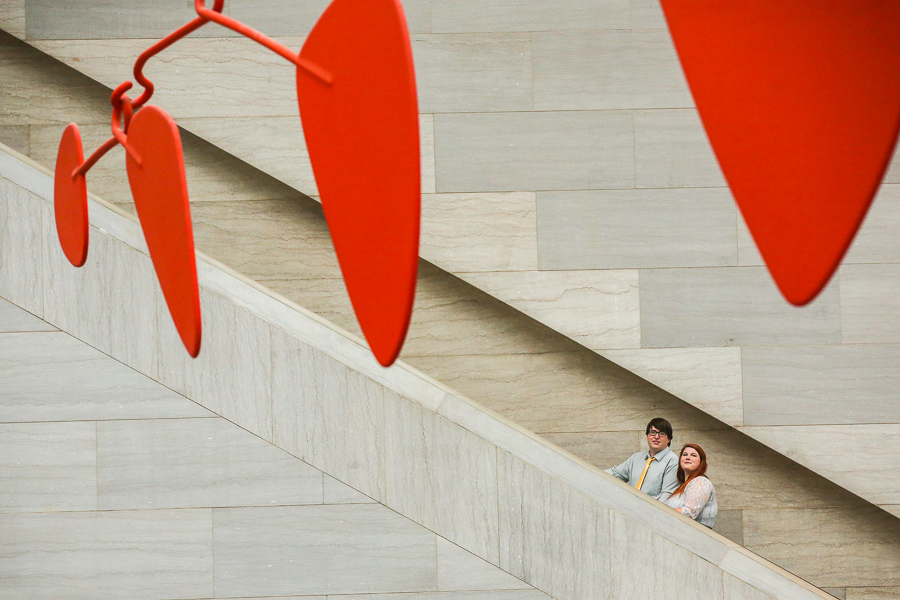 National-Gallery-of-Art-Engagement-Session-washington-dc-photographer