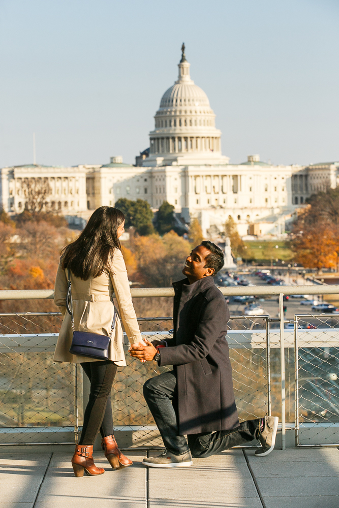 Washington-DC-Newseum-Surprise-Proposal