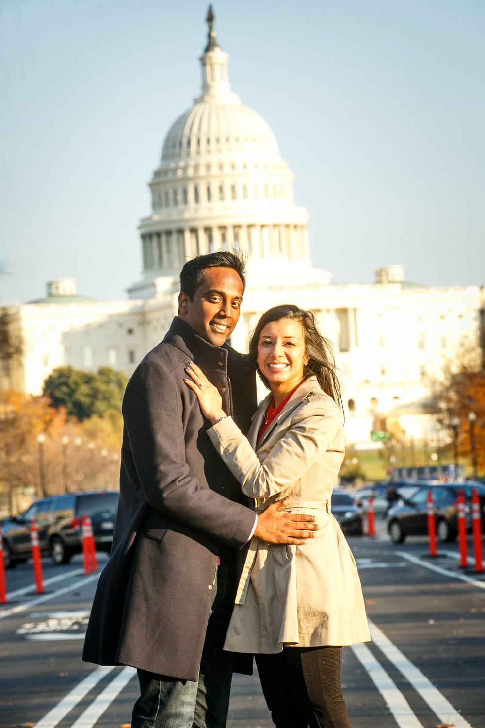 Washington-DC-Engagement-Session-at-The-Capitol