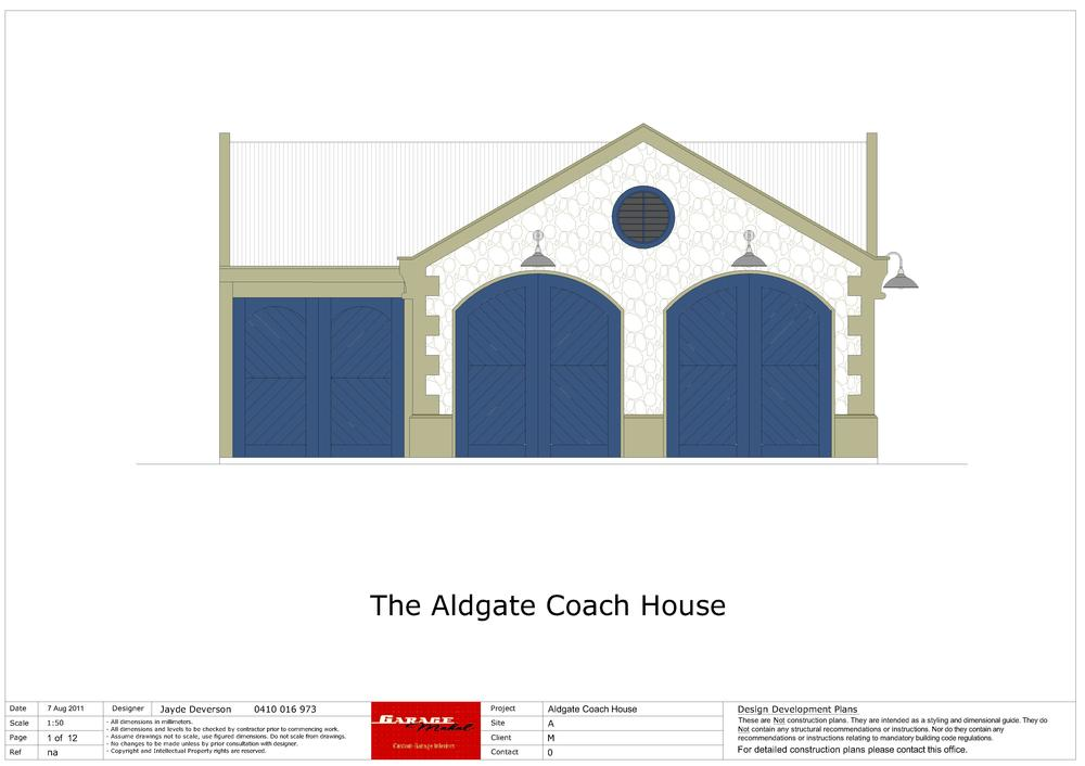 Aldgate Coach House - 2 - North Elevation.jpg