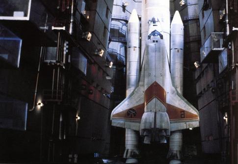 The Moonraker Shuttle final production