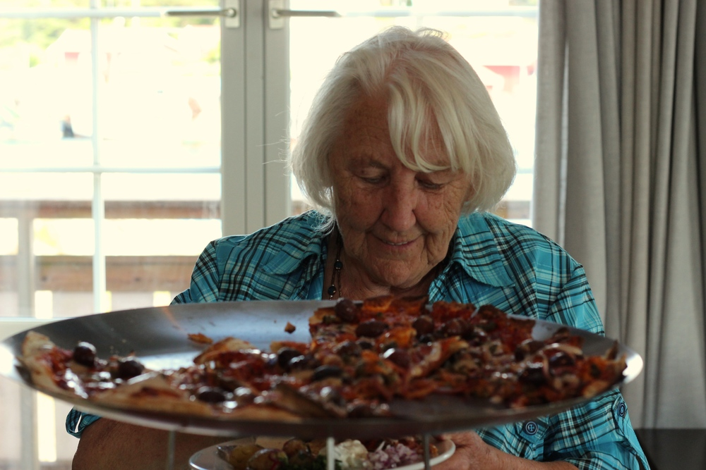 """""""En pizzabit går alltid ner"""""""