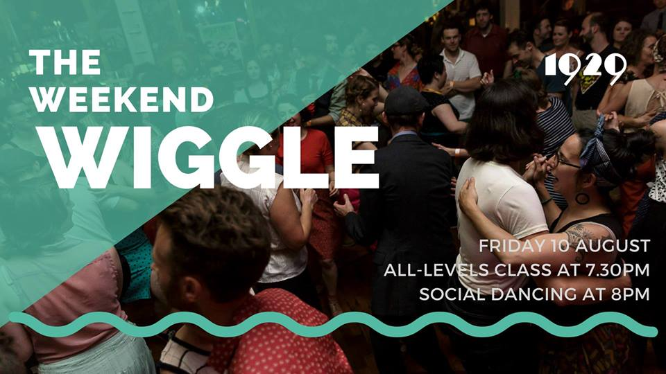 The Weekend Wiggle is a Friday night swing dance party! What else could you want on a Friday night?  The gist is that we'll have incredible DJs playing awesome swingin' tracks, and we all get to dance, hang out and have a great start to the weekend.  $10 (Members) or $15 (Not members)  Tickets  HERE