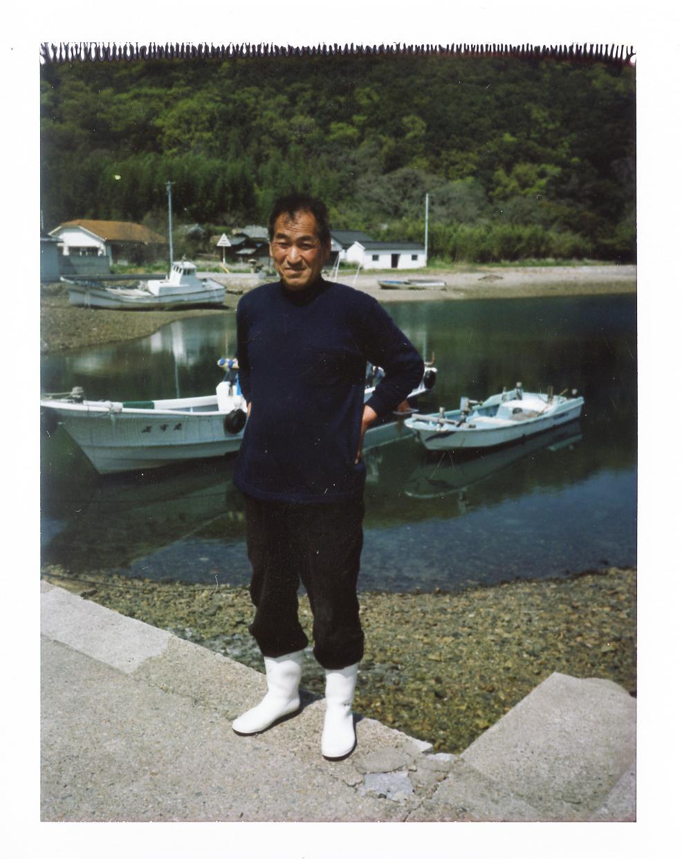 けいこさんの弟さんで、島で漁業、農業を営んでいる。