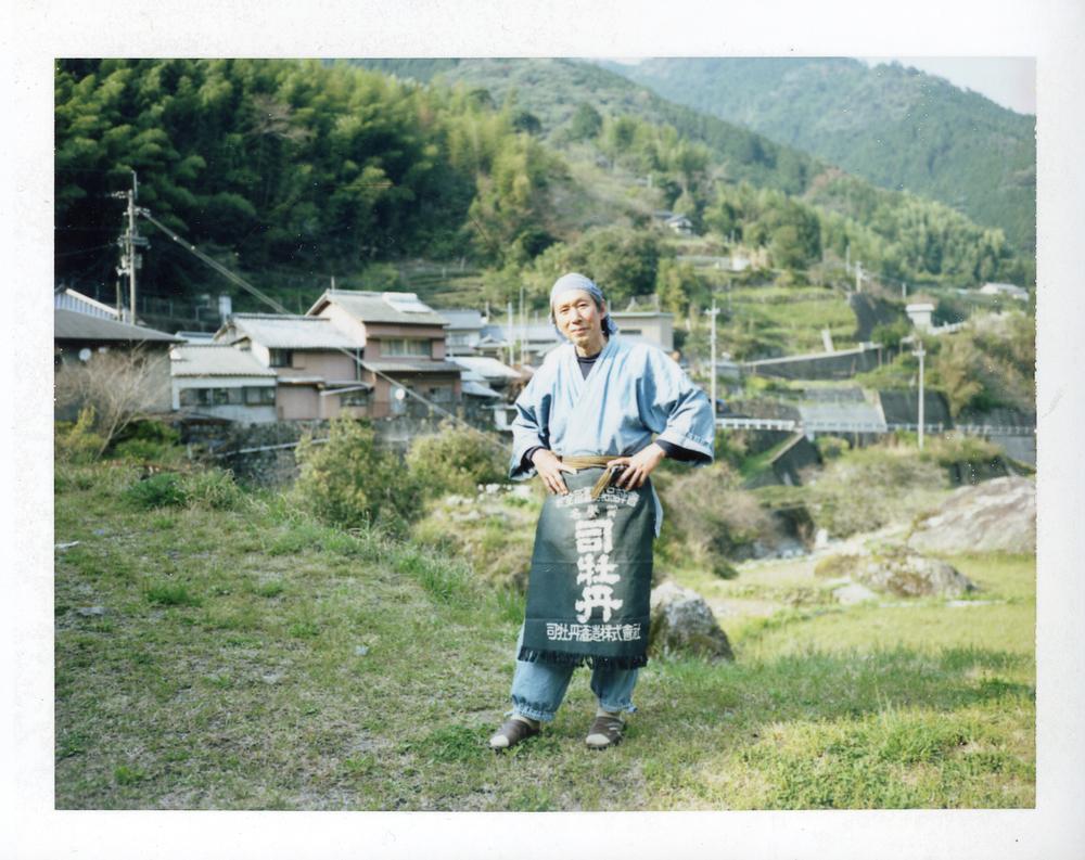 和ハーブを世の中に広める、「ふれあいの里柳野」の松岡昭久さん。