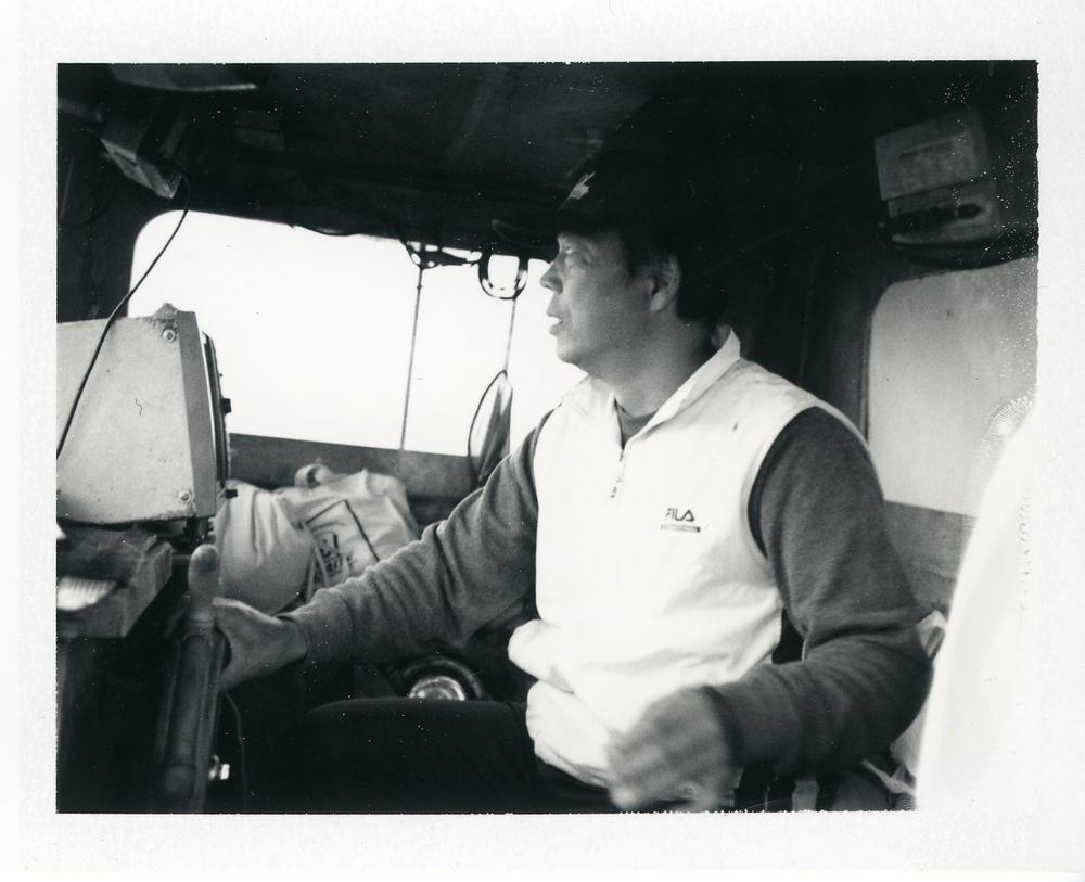 女木島の漁師、浜崎さん。