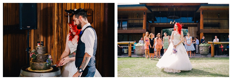 Cake cutting. | Beka + Con | Sydney Polo Country Club | Photography | Photo Booth | Stop Motion