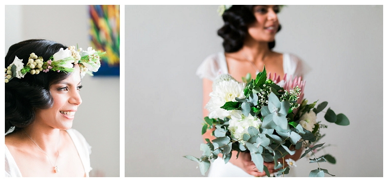 flowers photographer sydney centennial park wedding