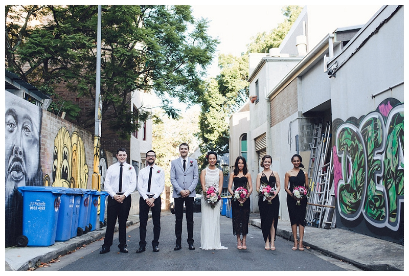 Sydney Wedding Bridal Party Portraits
