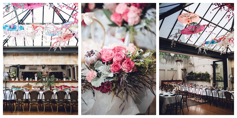 Reception styling  | Sydney Wedding