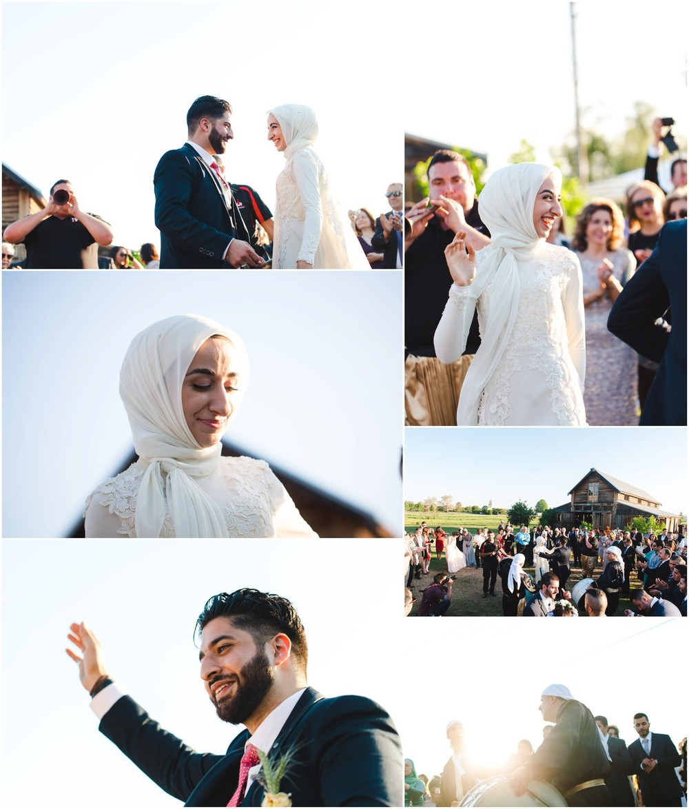 muslim wedding dancing