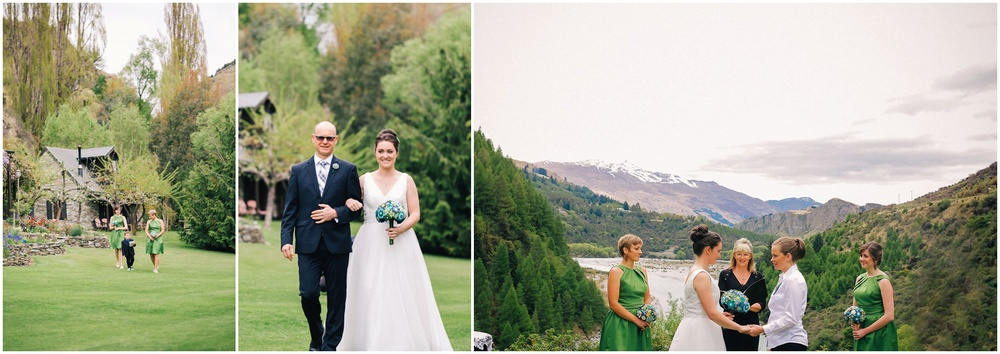 walking down the aisle queenstown