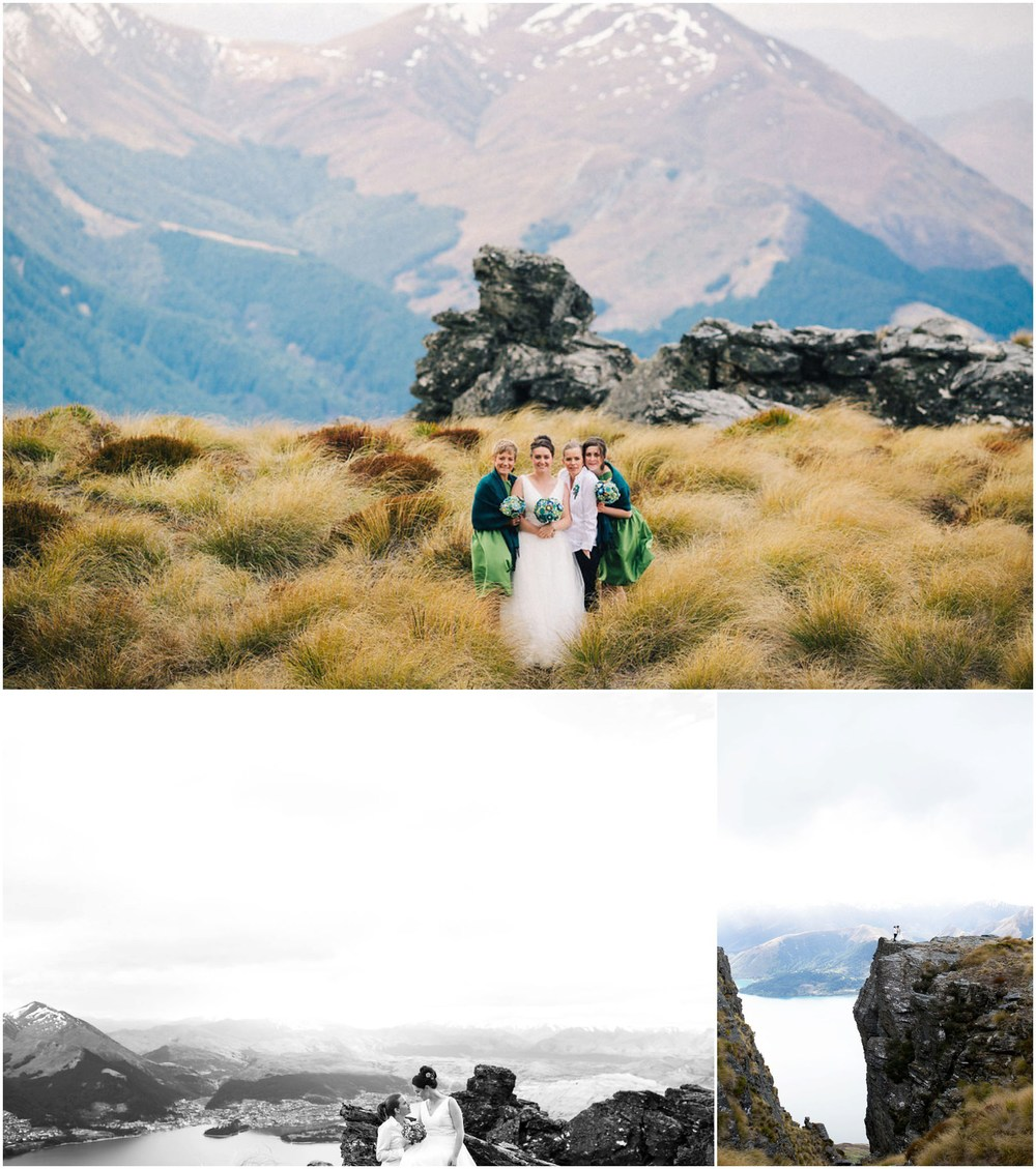 amazing view same sex wedding queenstown