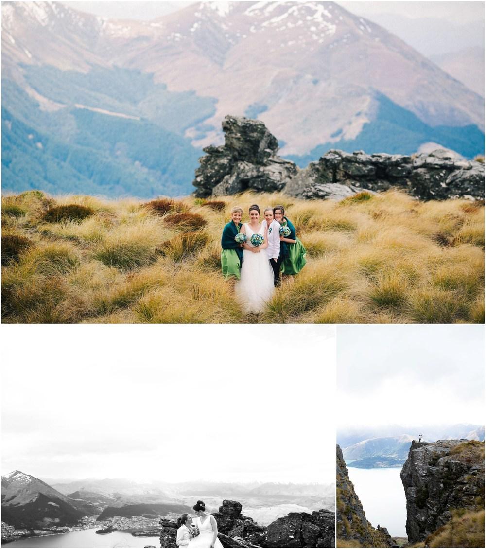 amazing view same sex wedding queenstown