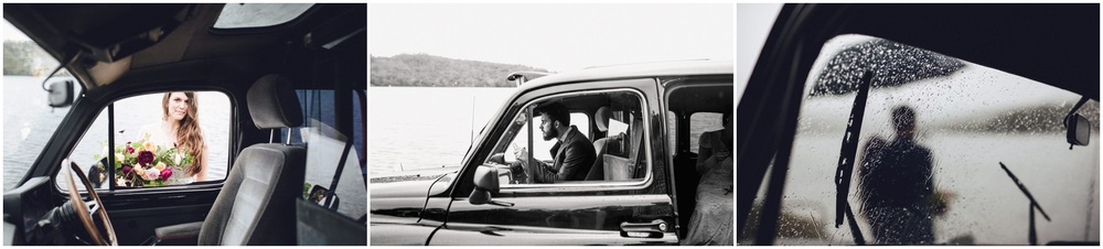 english black cab wedding