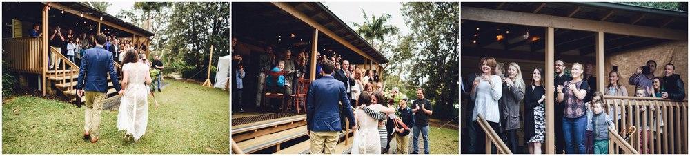 surprise wedding entrance