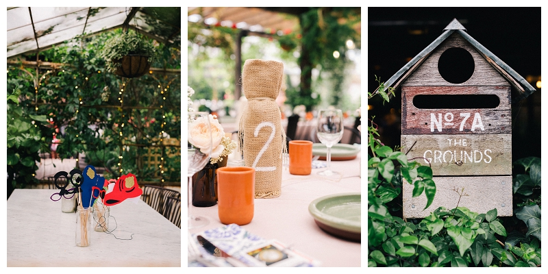 beautiful wedding styling - grounds of alexandria