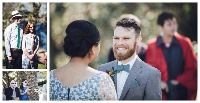 groom -  cremorne reserve waterside wedding