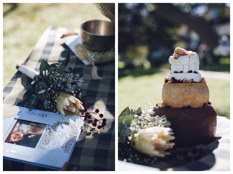 wedding flower and unique wedding cake