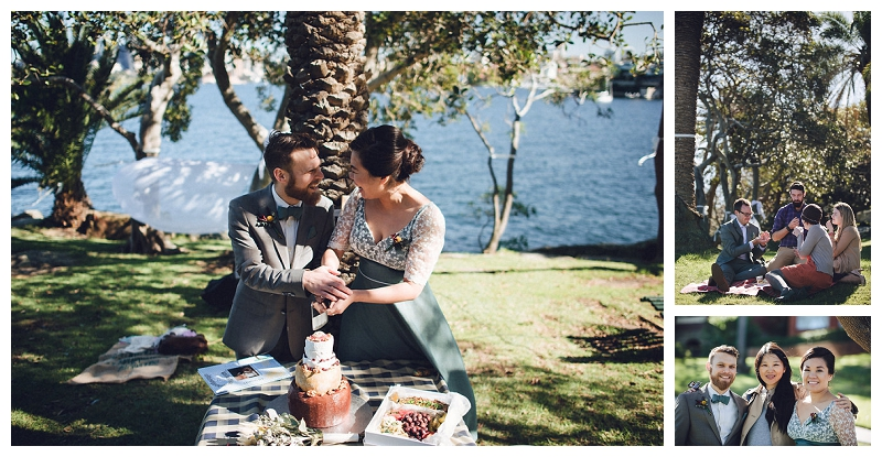 cremorne reserve waterside wedding