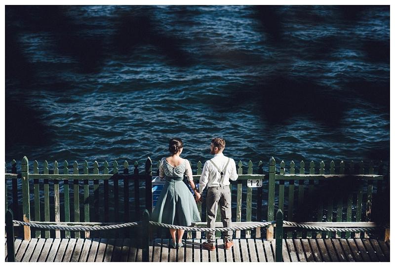 cremorne reserve waterside wedding portraits