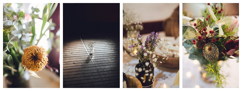 wedding flowers and styling