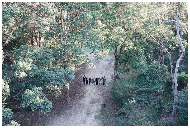 mosman bay wedding group shots