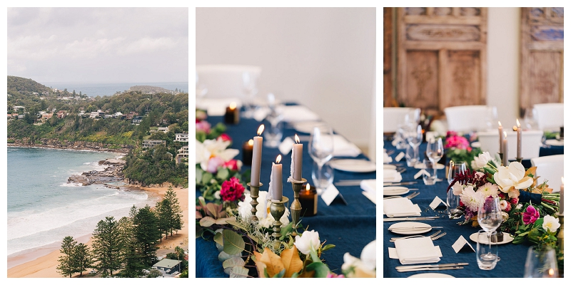 jonah's whale beach reception styling
