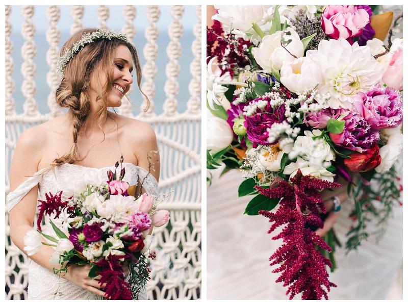 bride gown flowers hair style hair crown