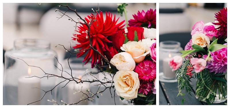 wedding flowers reception styling
