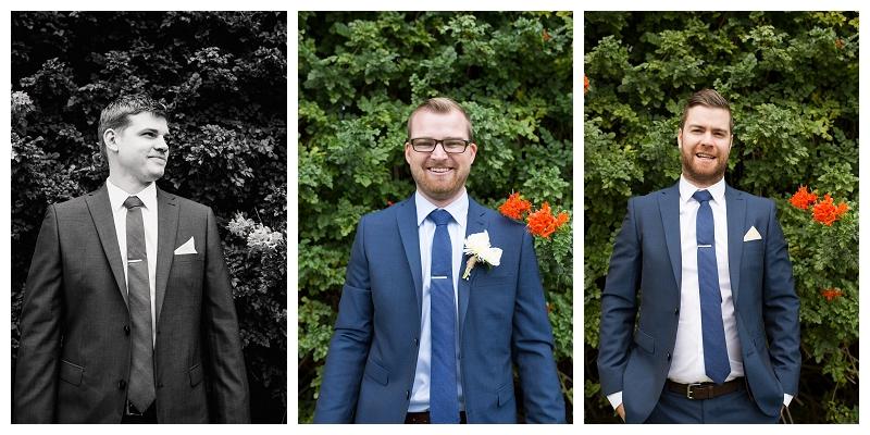 Groomsmen's Wedding Suits