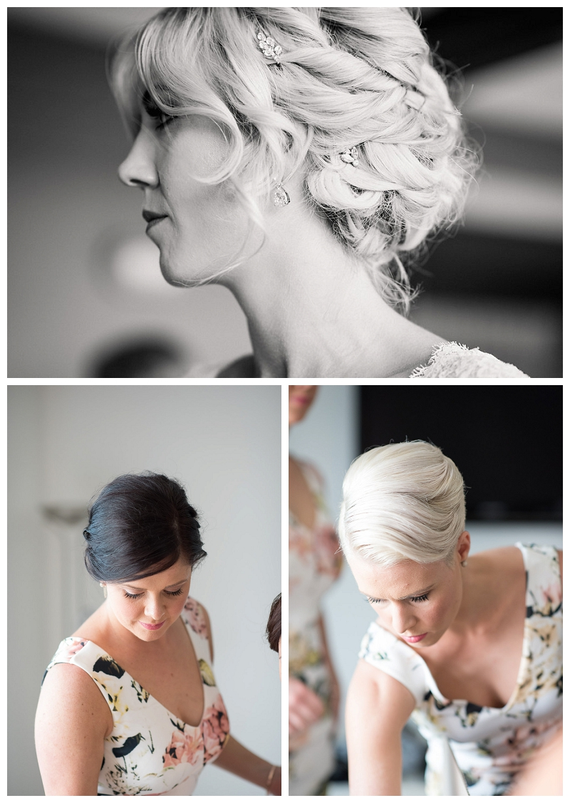 Classic Bridal Hair and Make-up
