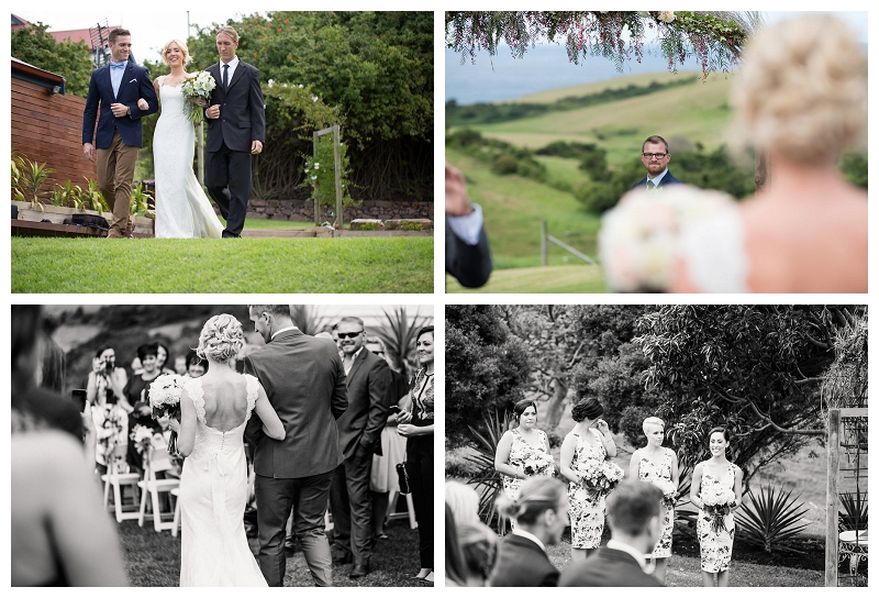 Wedding Ceremony in Bush Bank, Kiama
