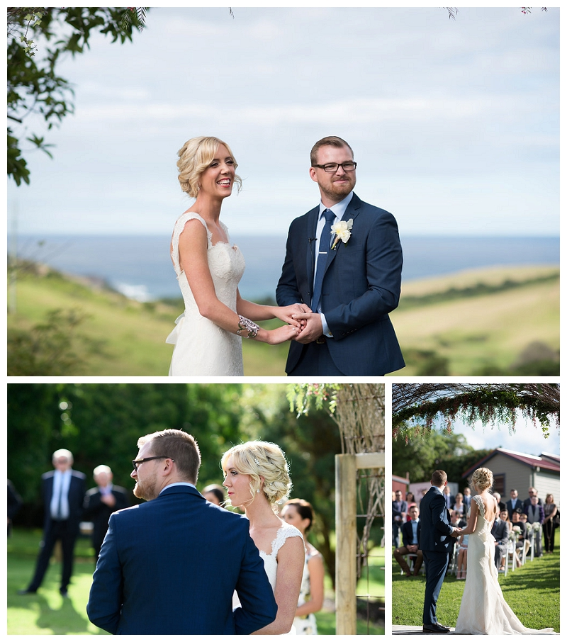 Bush Bank, Kiama Wedding Ceremony