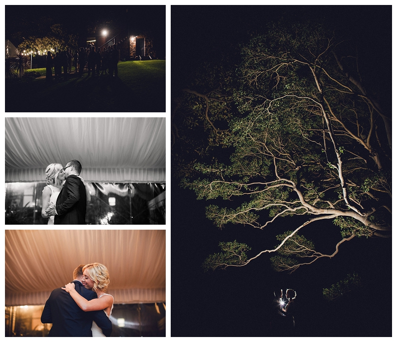 Wedding Reception in Bush Bank, Kiama