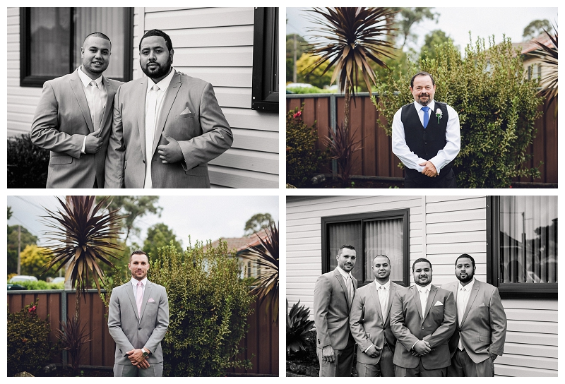Groom and Groomsmen's Attire