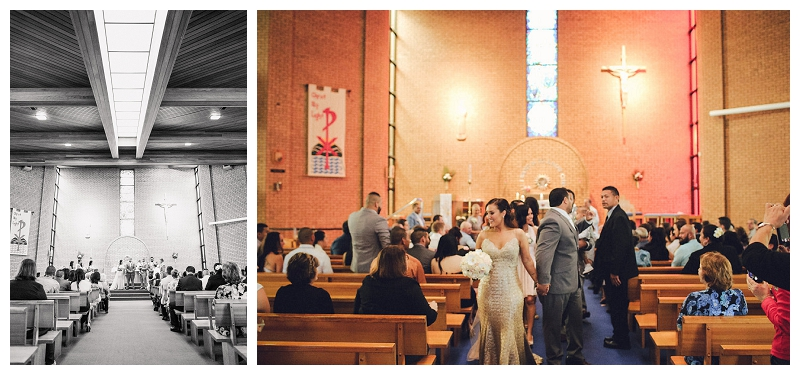 St Paul the Apostle Parish Wedding Ceremony