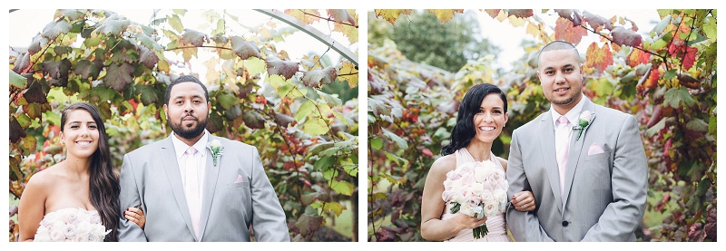Bridesmaids and Groomsmen's Portraits