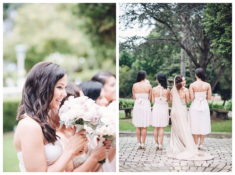 Bridal Gown and Bridesmaids' Dresses