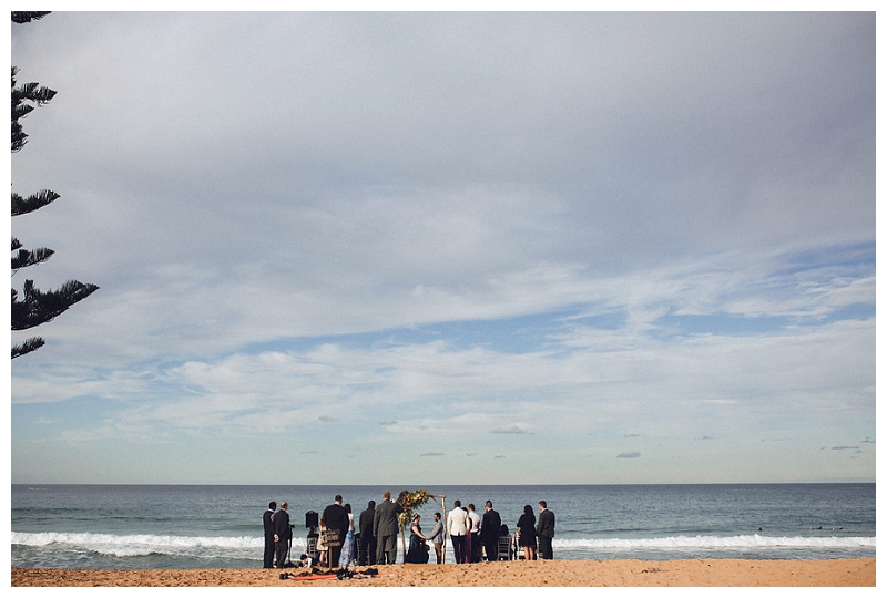 Wedding at Whale Beach