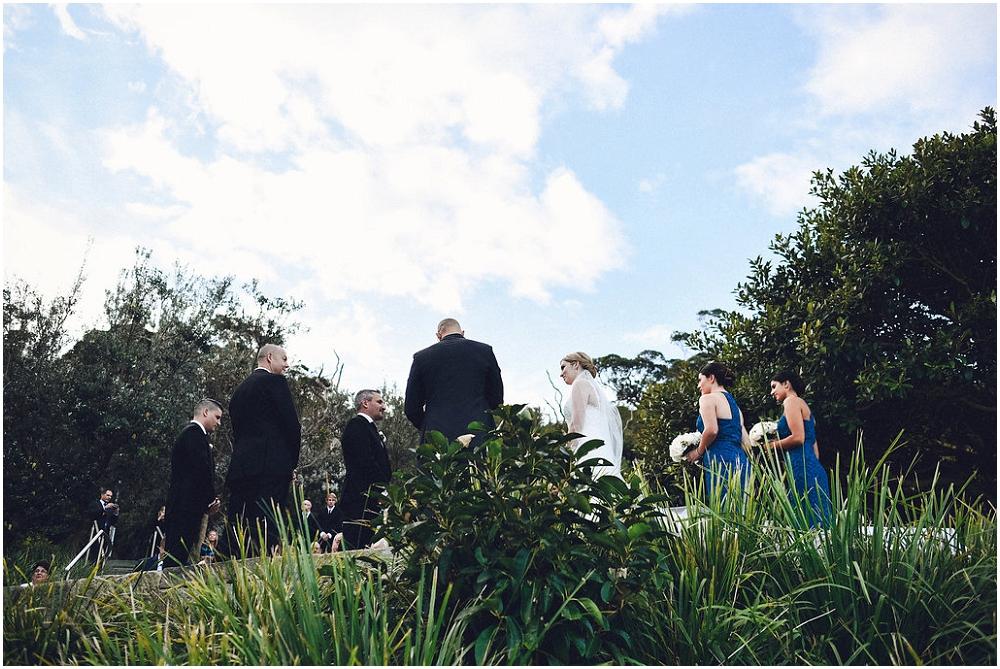Sergeant's Mess, Chowder Bay Wedding