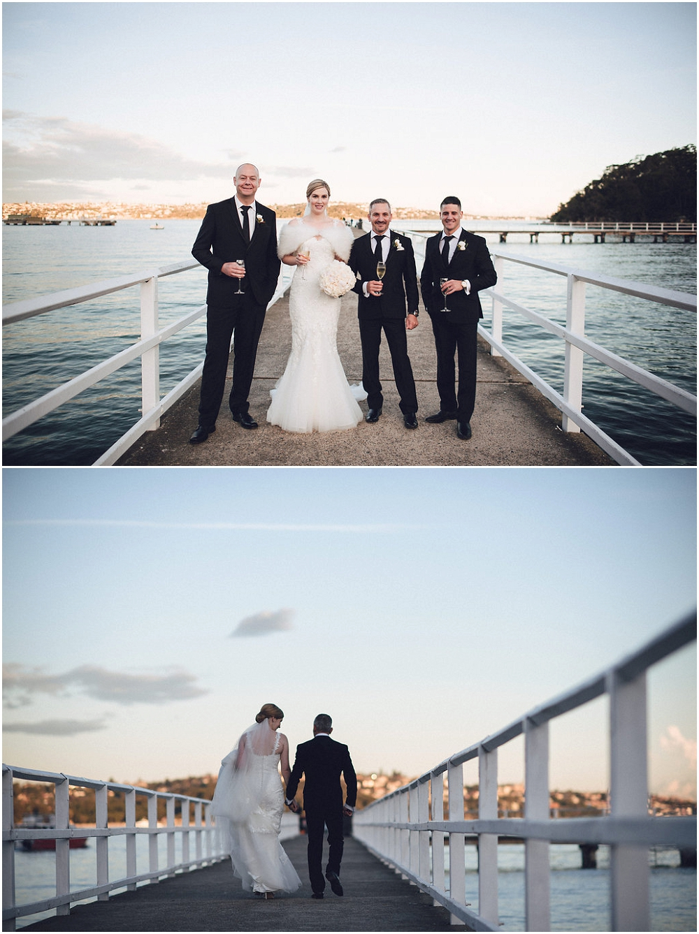 Wedding at Sergeant's Mess in Chowder Bay