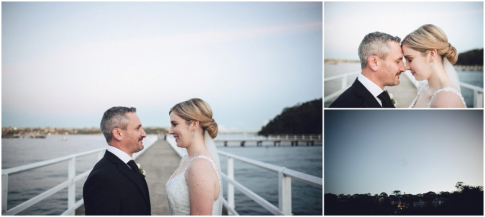 Bay view Wedding Portraits