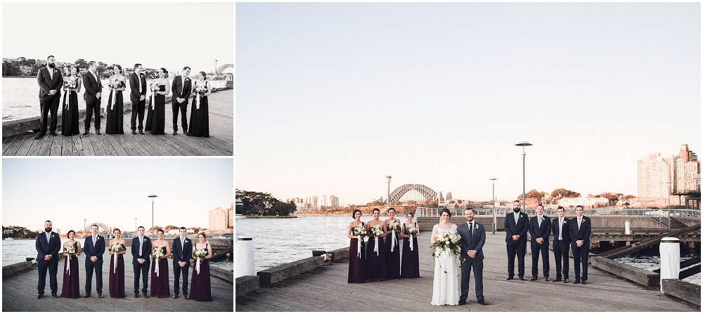 Wedding Reception at Doltone House in Pyrmont, Sydney