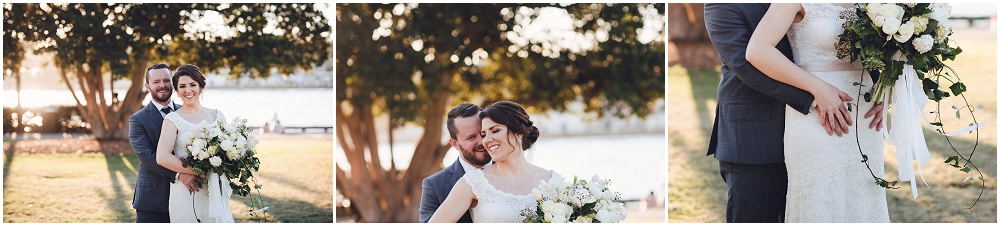 Bride and Groom's Wedding Portraits