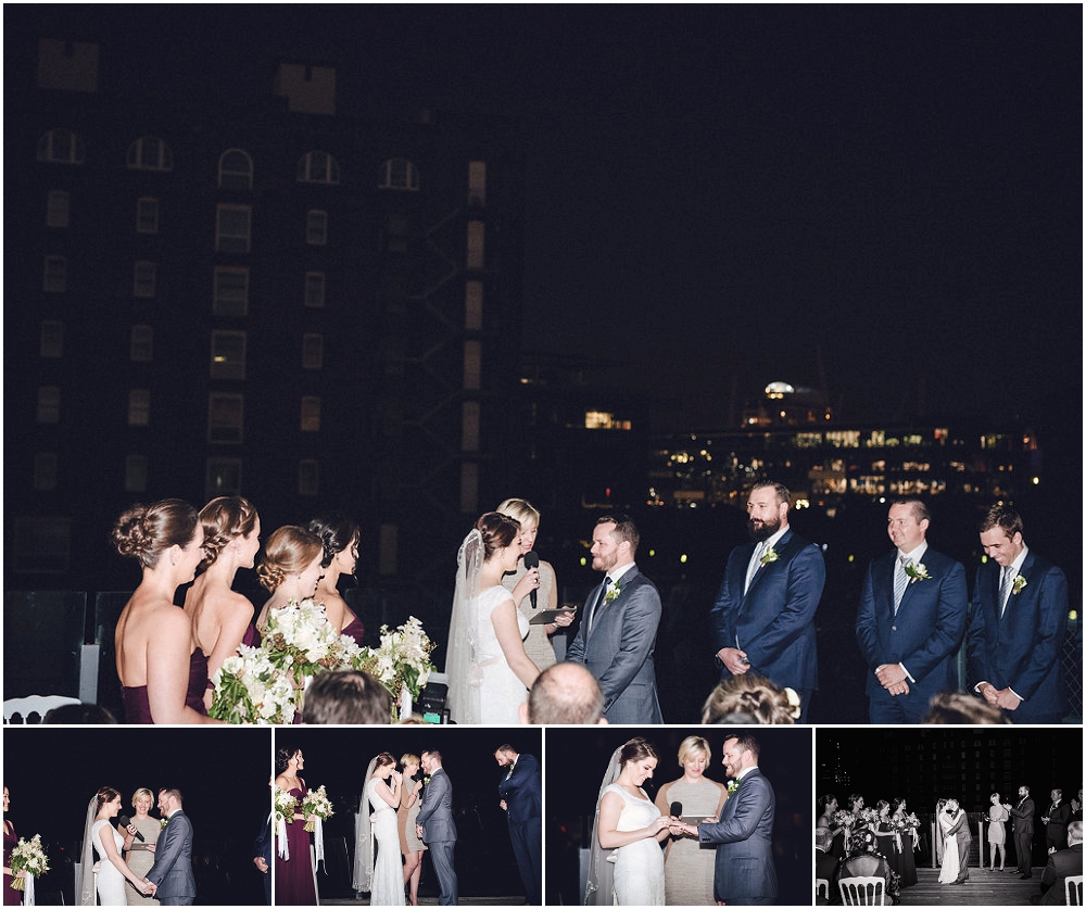 Wedding Ceremony at Doltone House in Pyrmont, Sydney